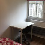 Princes Hall Double Room with 4ft Double bed and desk